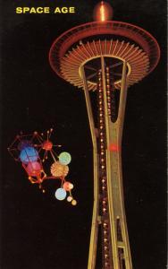 WA - Seattle, 1962. Seattle World's Fair (Century 21 Exposition). Space Needl...