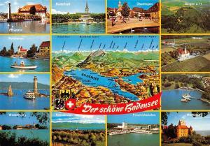 Der schoene Bodensee, Meersburg Birnau Friedrichshafen Radolfzell Lindau