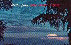 Florida Coral Springs Hello From Coral Springs