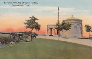 Tennessee Chattanooga Boynton Park Top Of Cameron Hill