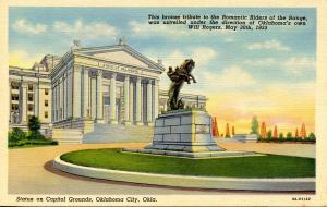 OK - Oklahoma City. State Capitol