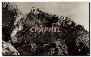 Modern Postcard Eze Village Nest & # 39Aigle