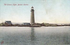 The Graves Lighthouse Boston Harbor Massachusetts