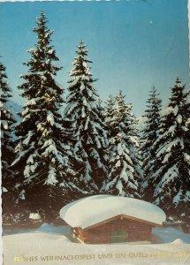 Frohes Weihnachtsfest und ein Gutes Neues Jahr Merry Christmas New Year Postcard