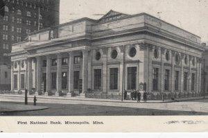 MONNEAPOLIS , Minn. , 1913 ; First National Bank