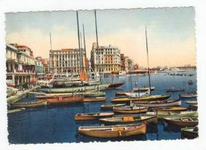 NAPOLI, Seaside View, Exterior, Hotel Excelsior, Sailboats, Row Boats, Italy,...