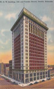 Nebraska Omaha Woodmen Of The World Building 1940