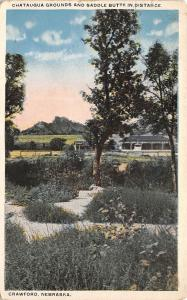 Crawford NE Chautauqua Grounds~Grandstand~Judge's Box~1920s Frendenburg~St Louis