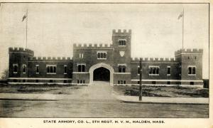 MA - Malden. State Armory - Co. L, 5th Regt. M.V.M.