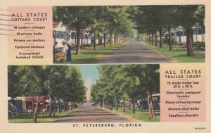 ST PETERSBURG , Florida , 30-40s ; All States Trailer Court