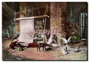 The Modern Postcard Algeria Weaving Chevre
