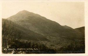 NH - Crawford Notch. Mt. Willey    *RPPC