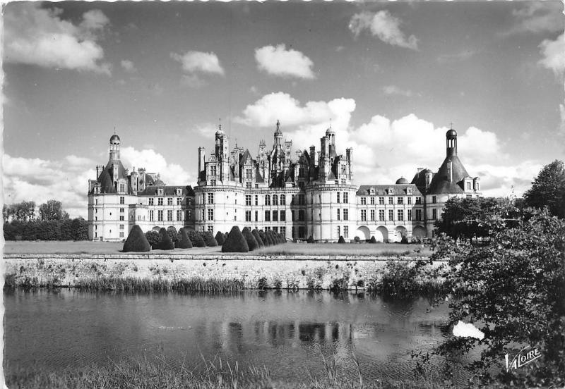 BR20740 La facade nord oues Chambord France