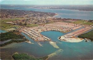 Palmetto Florida~Tropic Isles Mobile Home Park & Yacht Club~Terra Ceia Bay~1960s