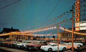 BC; NEW WESTMINSTER , B.C. , Canada , 1950-60s ; Coral Auto Sales Ltd.