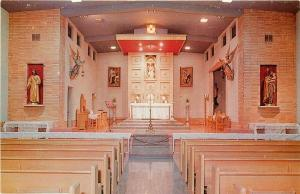 CA, Alhambra, California, Retreat House of the Sacred Heart, Dexter No. 22043