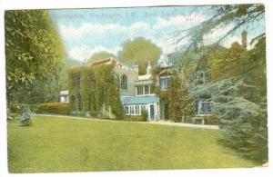 Lord Tennyson's Residence, Farringdon, Freshwater, Isle Of Wight, England, UK...