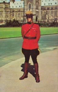 Canada Royal Canadian Mounted Police In Uniform