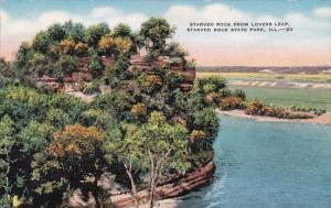 Starved Rock From Lovers Leap Starved Rock State Park Illinois
