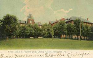 PA - Huntingdon, Juniata College, Ladies & Founders Halls