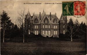 CPA St Verand - Chateau de Flachére (573062)