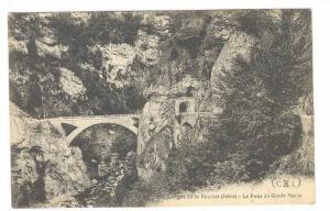 Gorges De La Bourne (Isere), Le Pont De Goule Noire, France, 1900-1910s