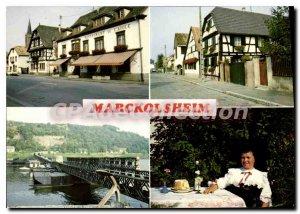 Postcard Modern Marckolsheim Hotel Restaurant De I'Aigie