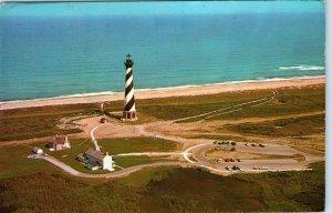CAPE HATTERAS, NC North Carolina   LIGHTHOUSE~ Tallest in US   1984  Postcard