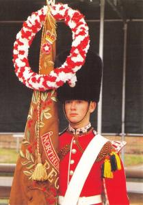 Postcard Royal Regiment of Fusiliers St Georges Day Parade Canterbury 1990 PH2-2