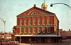 Massachusetts Boston Faneuil Hall 1993