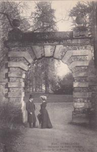 VERSAILLES, France, 1900-1910's; Hameau Du Petit Trianon, Porte De La Ferme
