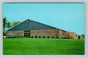 Resaca GA- Georgia, Faith Baptist Campground, Vintage Chrome Postcard