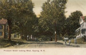 EPPING , New Hampshire , 00-10s ; Pleasant Street (Dirt) Looking West