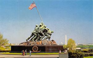 USA U.S. Marine Corps War Memorial IWO Jima Statue Arlington National Cemetery