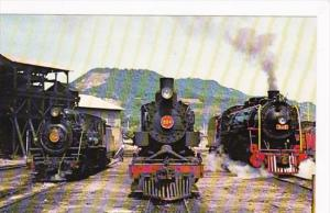 Train South America Locomotives No 154 No 204 & No 306 Tubarac Brazil