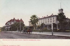 SANTA BARBARA , California, 1901-07; Arlington Hotel and Annex, Horse Carriage