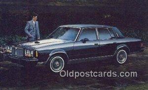 Pontiac 1982 Bonneville Model G Brougham Automobile Auto, Unused