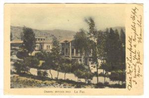 Chalets on Avenida Arce,  La Paz , Bolivia, 1890s-1905