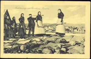 denmark, Faroe Islands, TORSHAVN, Fisketørring, Telescope (1930s)