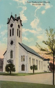 SAVANNAH , Georgia, 1900-10s ; First Presbyterian Church