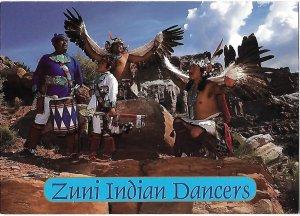 Zuni Indian Dancers, Zuni New Mexico 4 by 6