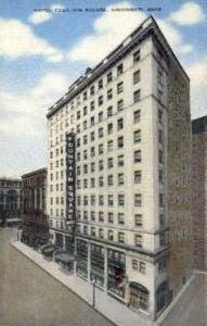 Hotel Fountain Square Cincinnati OH Unused