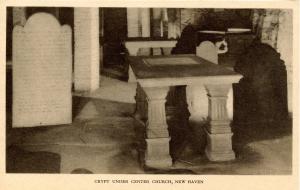 CT - New Haven - Crypt Under Christ Church