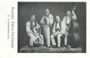 Romania Ruman Salon Orchester Orchestra Fiddlers Music Band F. Constantinescu