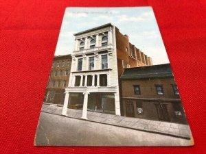 1911 Postcard SYRACUSE NY Elks Building, pub Jubb, to Miss May Nisbet