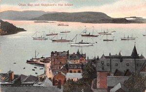 Scotland, UK Old Vintage Antique Post Card Oban Bay and Shepherd's Hat I...
