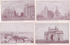 Majestic Hotel Malabar Hill Bombay Gateway 4x Indian Antique Postcard s