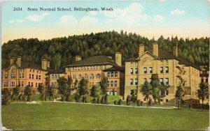 Bellingham WA State Normal School Unused JL Robbins Postcard G38
