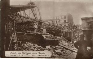 CPA Paris 4e (Dep. 75)Raid de Gothas sur Paris (56880)