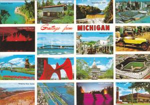 Greetings From Michigan Multi View